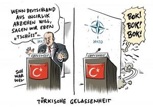 NATO-Stützpunkt Incirlik: Türkischer Außenminister meint, Bundeswehr dürfe gerne abziehen