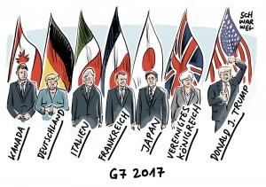 G7-Gipfel in Taormina: Trump hat seine eigenen Interessen