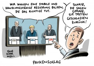 GroKo-Sondierung von Union und SPD: Sondierer veröffentlichen 28 Seiten Abschlusspapier