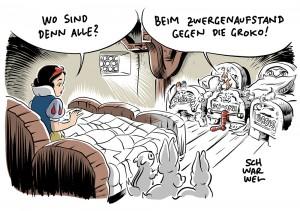 """CSU-Mann Dobrindt ruft zur Ordnung: Schulz soll """"Zwergenaufstand"""" in der SPD in Griff bekommen"""