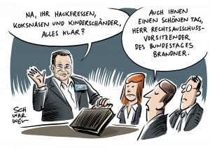 Stephan Brandner, AfD: Vom Pöbler zum Rechtsausschuss-Vorsitzenden