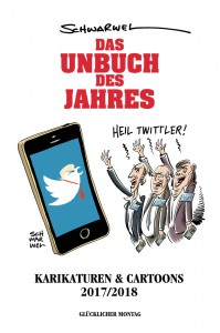 schwarwel karikatur cartoon buch das unbuch des jahres