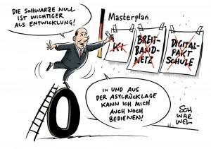 Sparvorstoß von Finanzminister Scholz: Finanzierungslücke des Bundes beträgt 25 Milliarden Euro