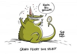 1 Jahr GroKo: Union und CDU ist mit sich zufrieden