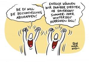 Ab 2021: EU-Parlament will Zeitumstellung abschaffen